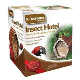 Garden Gift Ideas - Insect Bee Bug House Hotel Ready Assembled Helps Pollination